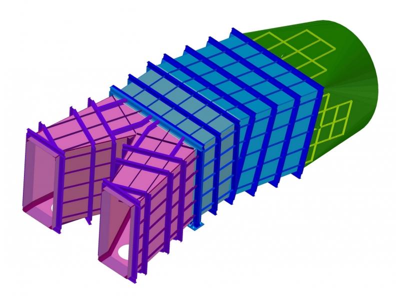 Газоход 3D модель